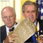 bush-burns-constitution